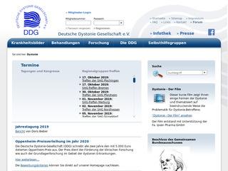 Deutsche Dystonie Gesellschaft
